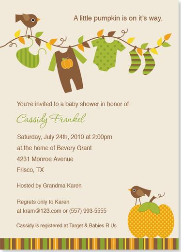 Autumn Baby Shower Invitations6