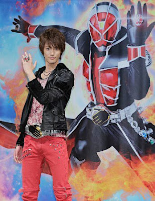Kamen Rider Wizard TV Clip Featured on a TV Show