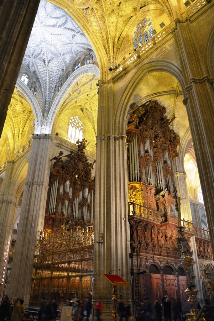 Cathedral of Sevilla organs