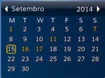 Desktop iCalendar Lite - Calendário