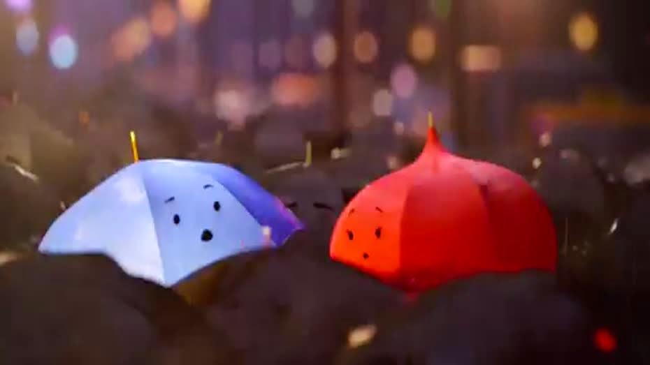Paraguas Del Amor de Amor la de un Paraguas