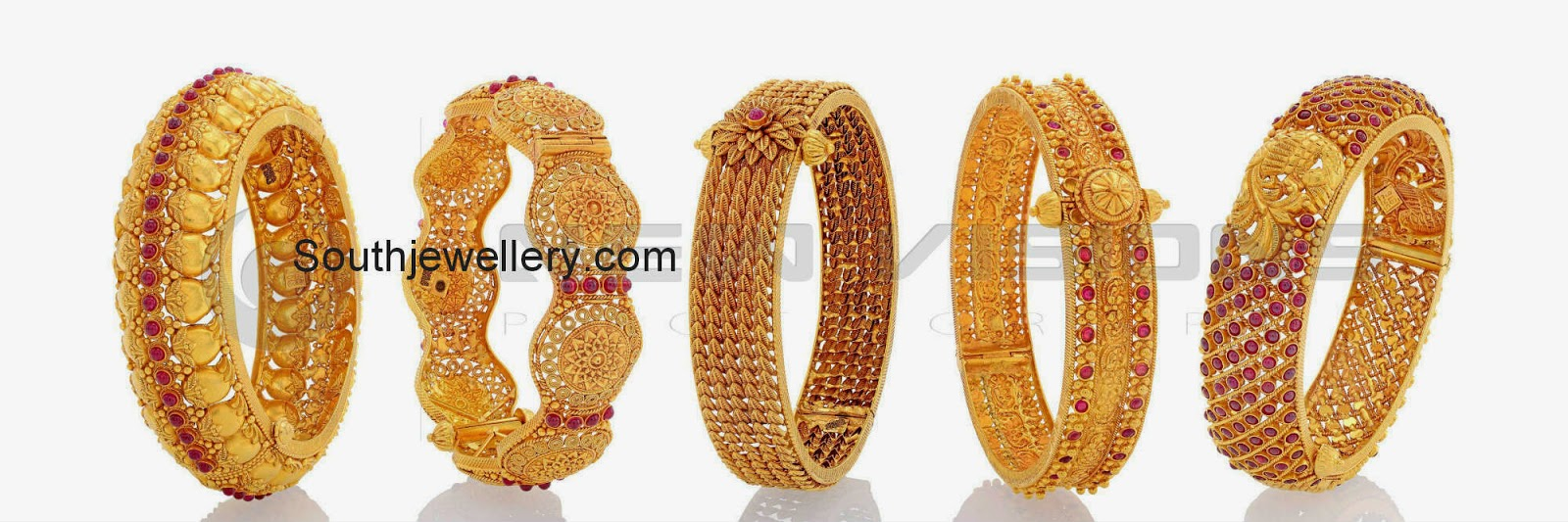 antique gold bangles collection