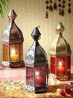 lanternas marroquinas decoração de ambientes
