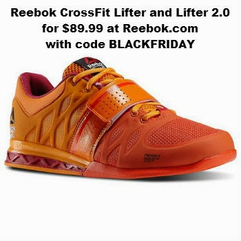 Reebok CrossFit Lifter and Lifter 2.0 for $89.99 at Reebok.com with code BLACKFRIDAY