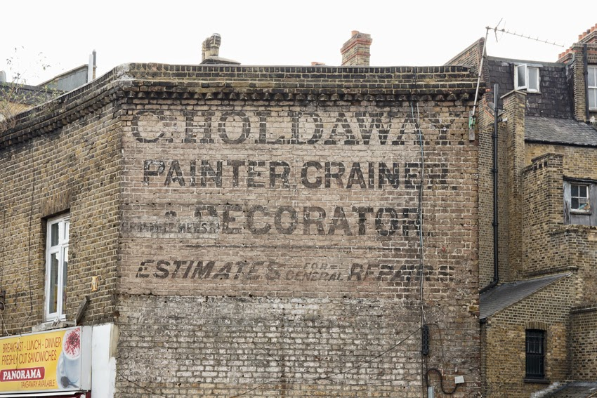 Caroline S Miscellany Ghost Signs 113 Lewisham Paint