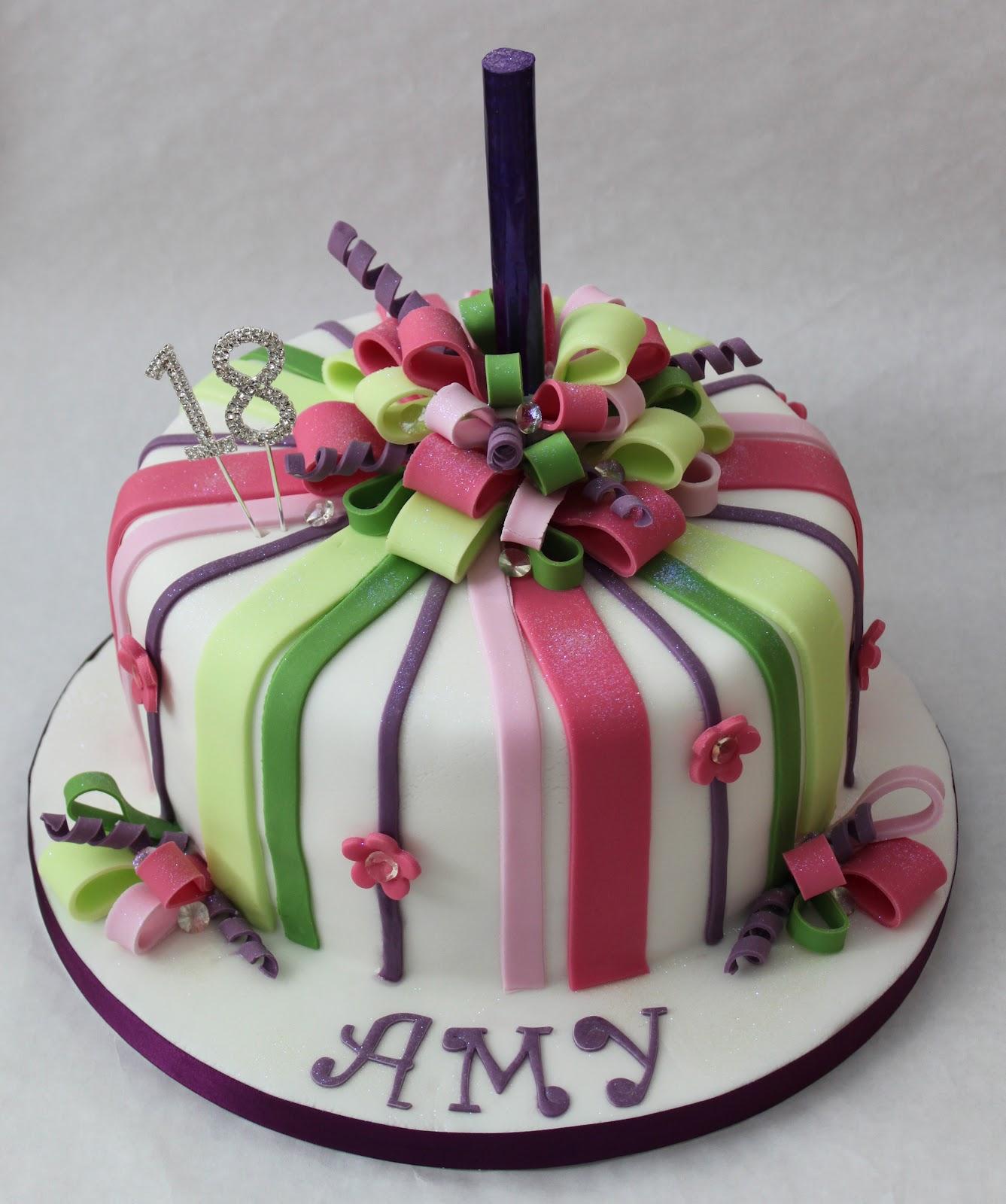 Snowballs In Summer: Ribbon Cake