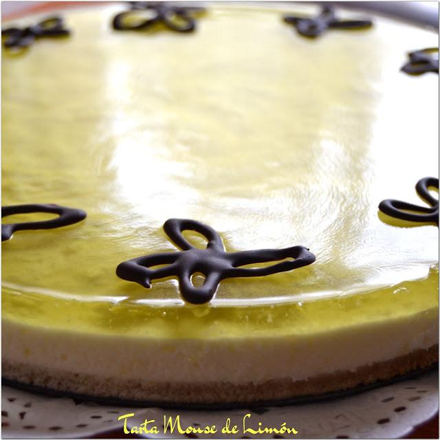 pastel mousse de limòn