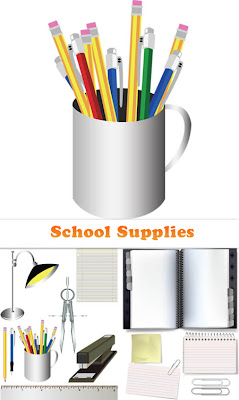 Vector Stock - School Supplies