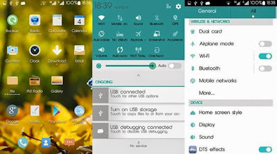 Android L Thema For Mixmax experimen bersama