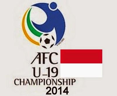 Jadwal Timnas Indonesia U-19 Di Piala AFC U-19 Championship 2014