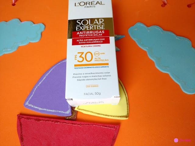solar-expertise-l'oréal-paris-protetor-facial-resenha