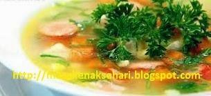 sup jagung muda