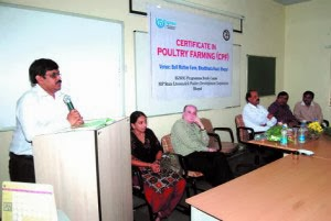 IGNOU Certificate course in Poultry