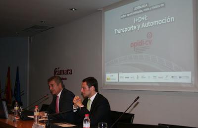Broseta: 'Las empresas de la Comunitat están atrayendo más financiación en proyectos nacionales y europeos de I+D+i'