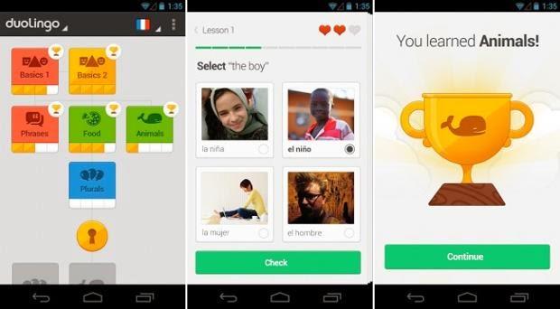 Duolingo 2014 للاندرويد