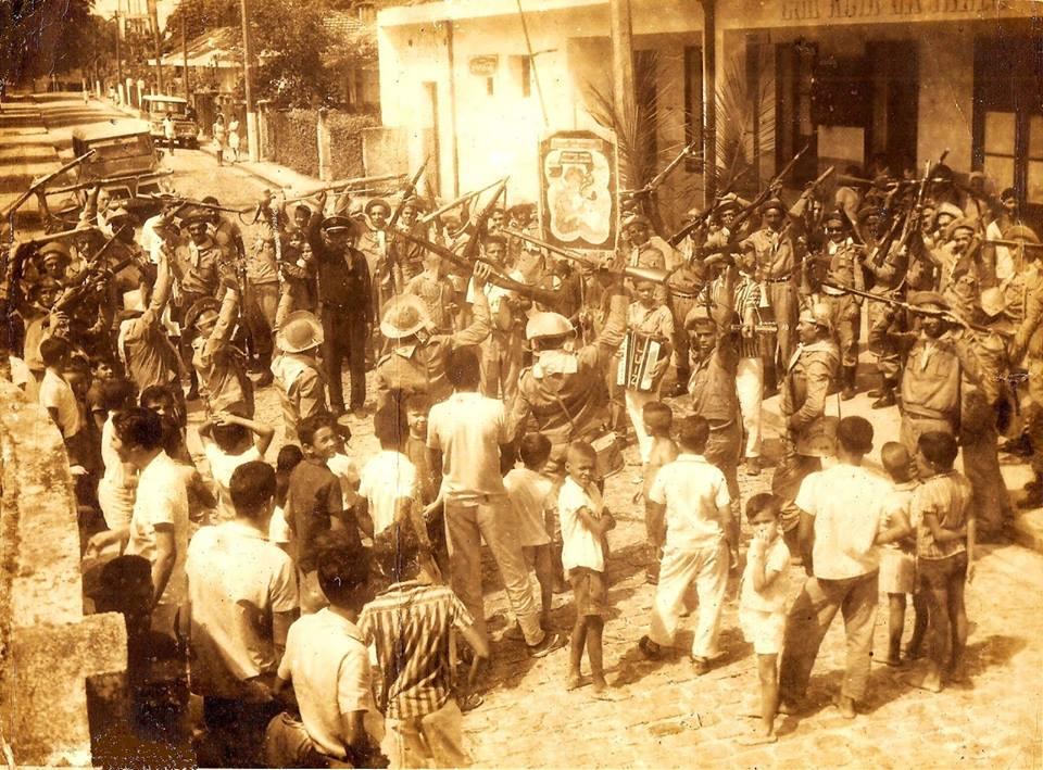 SOCIEDADE DOS BACAMARTEIROS DO CABO COMEMORANDO A LEGALIZAÇÃO DA ASSOCIAÇÃO