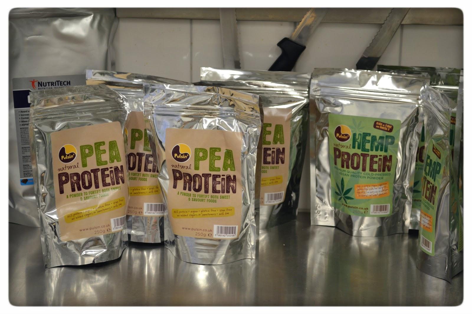 tjock av proteinpulver