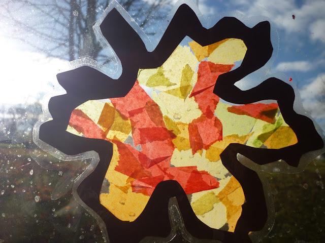 Leuchtende Blätter für Kleine