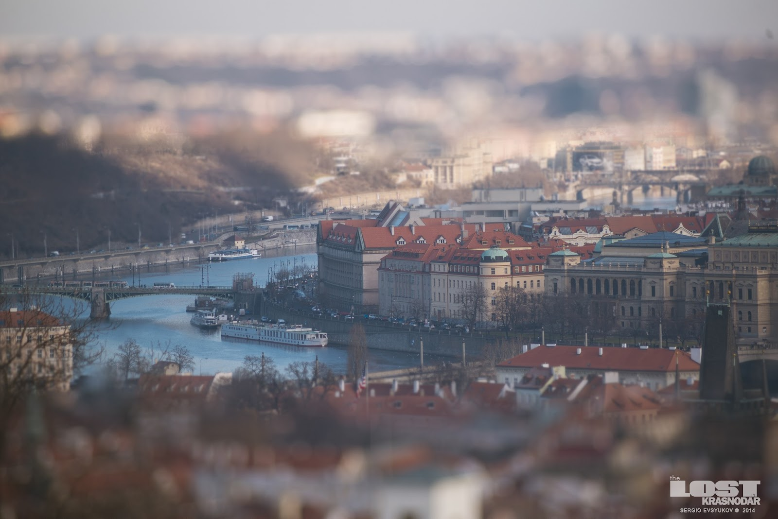 Prague Tilt-shift
