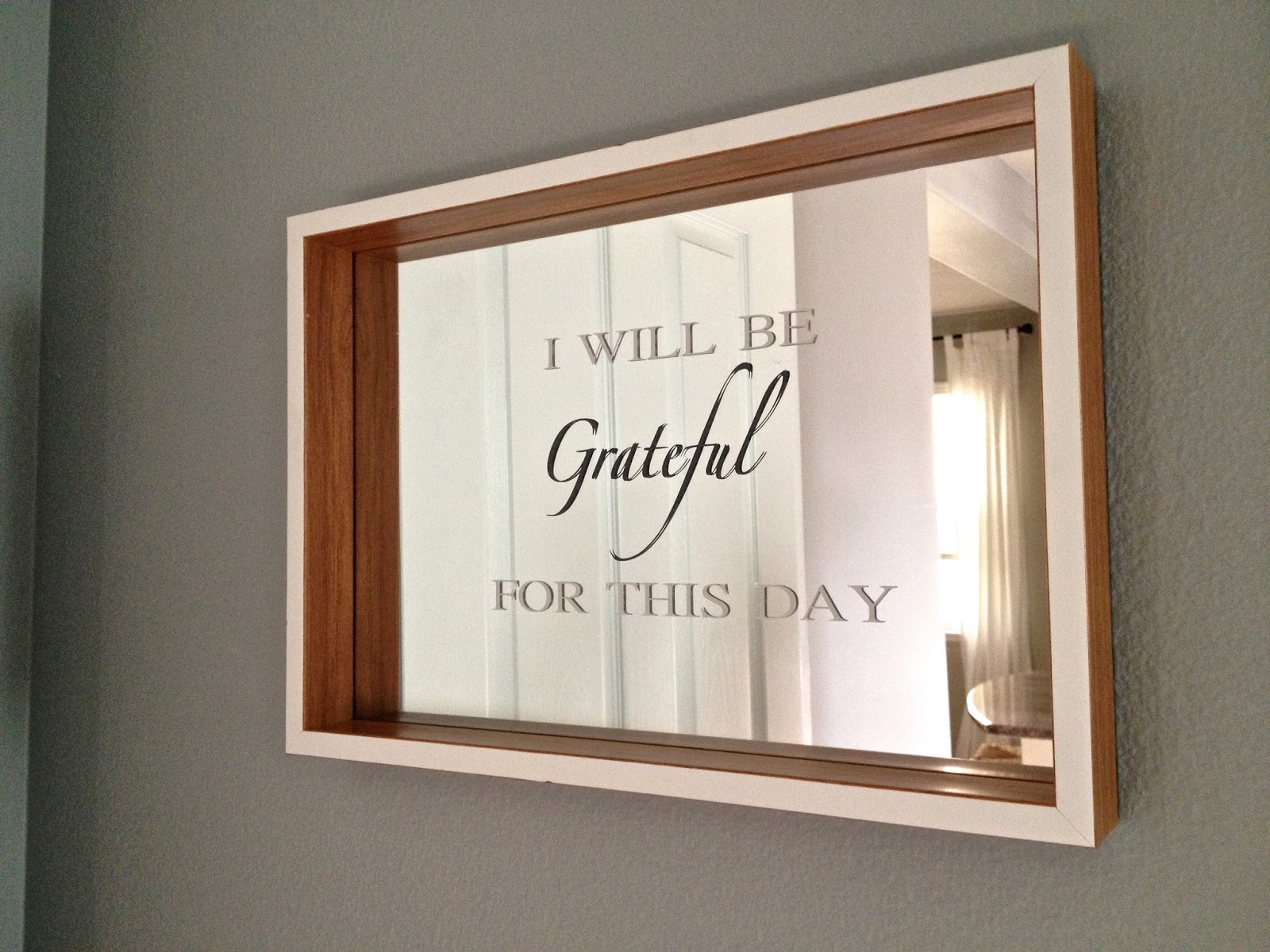 Craft projects using the silhouette overthrow martha for Vinyl sayings for crafts