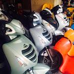 Cửa hàng Sơn, Sửa Chữa Xe Tay Ga Thành Trung đang trưng bày bán các dòng xe tay ga cao cấp chất lượng, giá cả phải chăng.