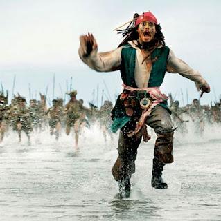 Frases do Capitão Jack Sparrow.