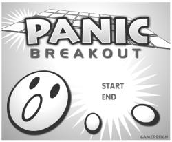 capture d'écran Panic Breakout