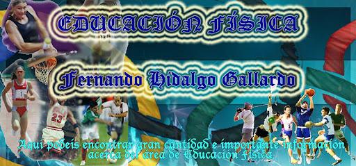 Educación Física   Fernando hidalgo Gallardo