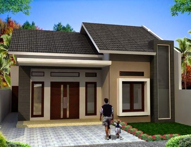 Desain Rumah Minimalis Sederhana Type 45 Terbaru