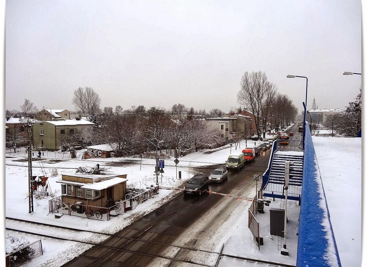 Kolejowe zimowe impresje ze stacji Olszynka Grochowska