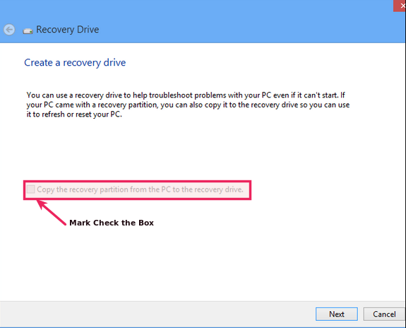 how to make recovery drive in windows 7