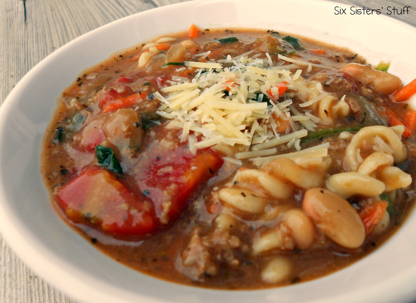 Quick Italian Turkey Soup Recipe | Six Sisters' Stuff