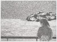 Richard Müller: Dame japonaise aux chutes du Rhin