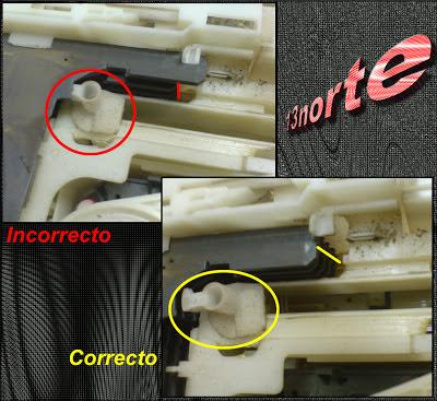Charola trabada mecanismo CRS1 de SA-AK450