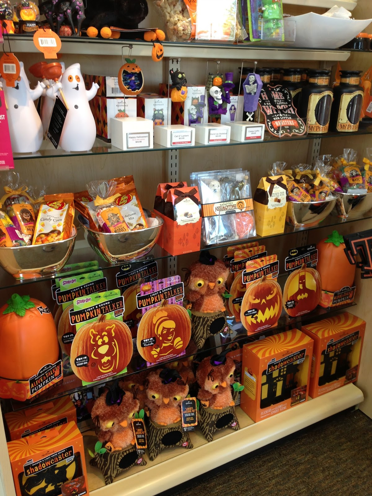 fright bites photo report halloween finds at big lots and hallmark - Hallmark Halloween Decorations