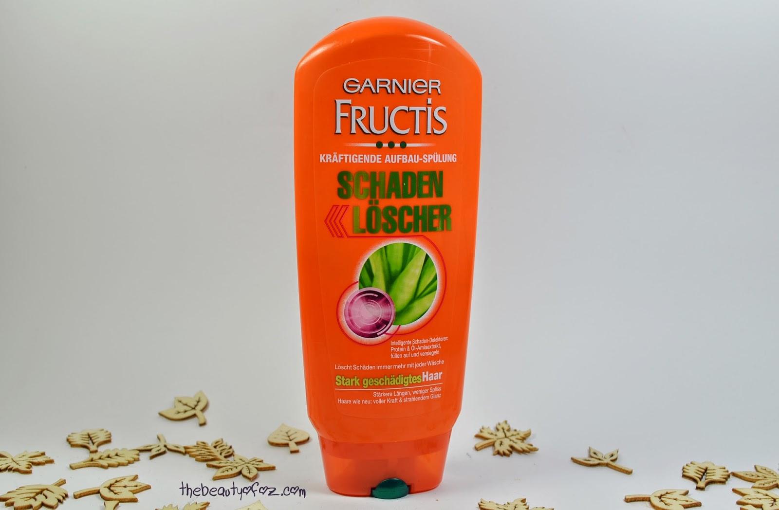 Garnier Fructis Aufbau-Spülung Schaden Löscher