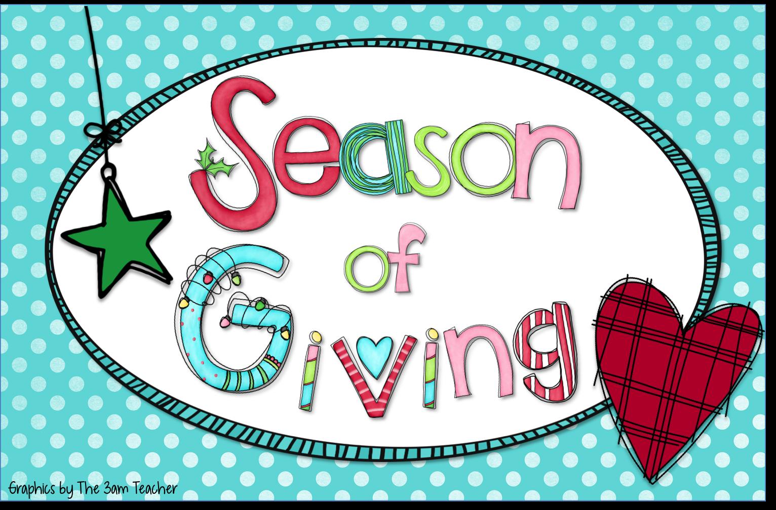 Tis the season of giving primary flourish tis the season of giving kristyandbryce Image collections