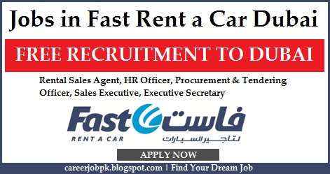Jobs Opportunities in Fast Rent a Car Dubai
