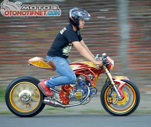 Modifikasi Honda Astrea Prima