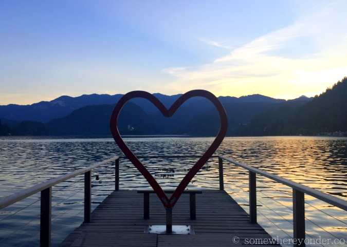 Love seat, Lake Bled - Slovenia