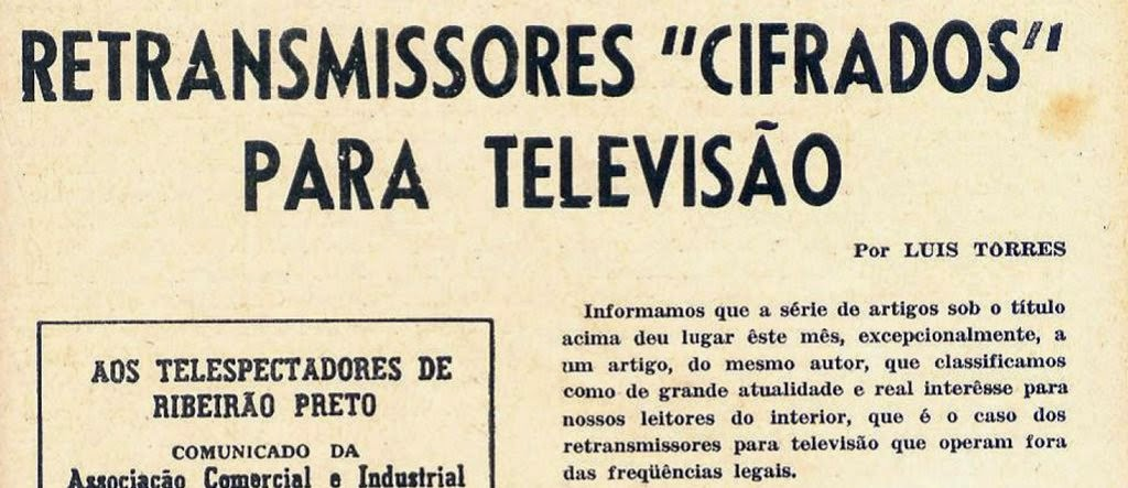 Revista Monitor de Radio e TV 182 - 1963