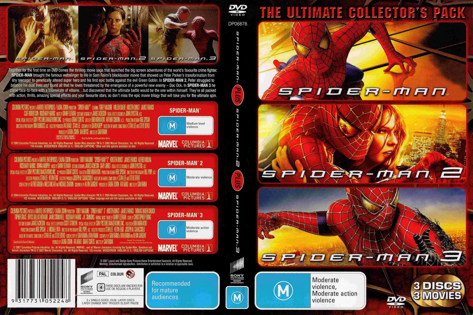 Trilogia Homem Aranha DVDRip Dual audio Homem 2BAranha 2B3 2Bem 2B1