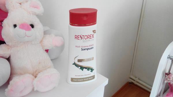 Saçlarımı Uzatmak İçin Restorex Kullanıyorum