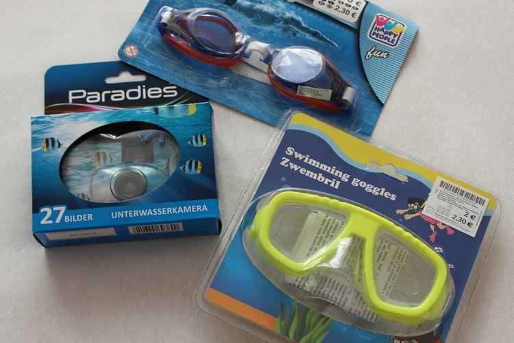 Taucherbrillen, Unterwasserfotos, Unterwasserkamera