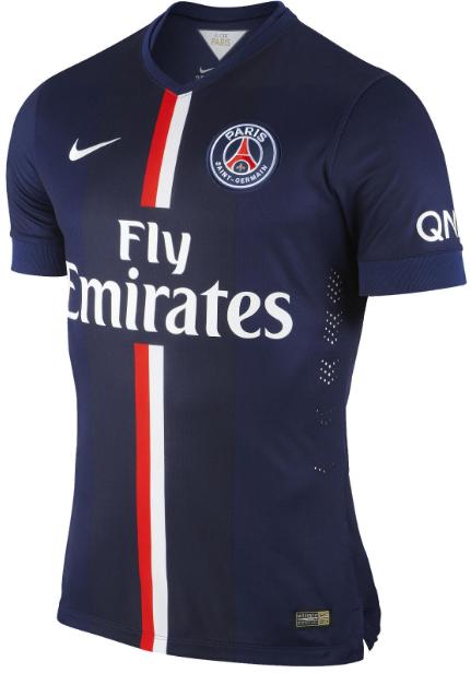 Paris St German 2014 2015 Home Soccer Jersey(Player)