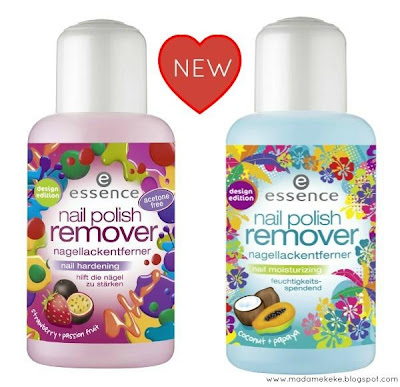 essence design edition – nail polish remover hardening