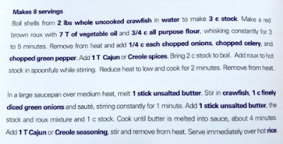 smittys Seafood Crawfish Etoufee recipe