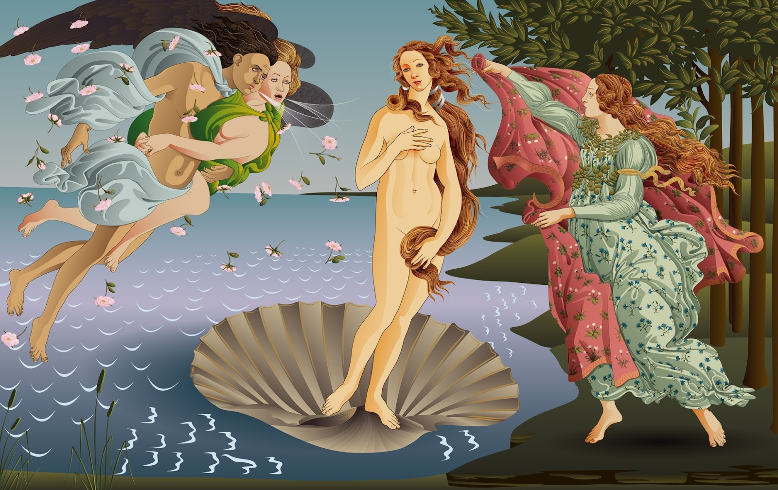 an analysis of the artwork the birth of venus by sandro botticello Sandro botticelli has created this tempura on canvas painting , it measures 1725 x 2785cm and is located in the galleria degli uffizi in florence the birth of venus belongs to the renaissance period and is not a representation of a christian legend but an interpretation of a classical myth.