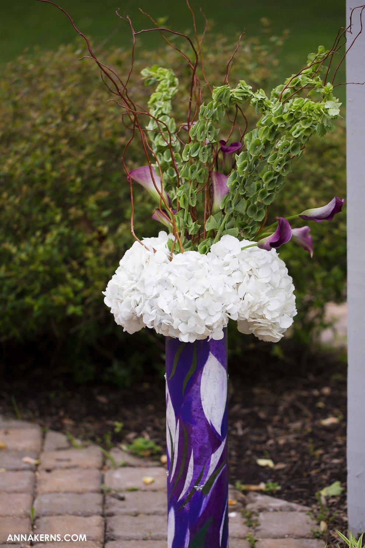 Jillians Wedding At Shade Trees And Evergreens Sweet Blossoms