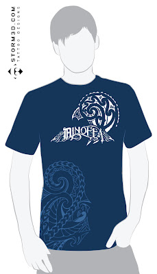 shirt with maori printed tattoos buy for sale